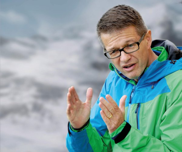 Mammut-CEO Rolf Schmid is a big fan of outdoor-clothing