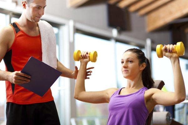 Fitnessstudio flirten