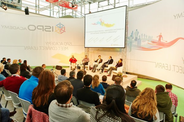 Panel discussion at the ISPO MUNICH
