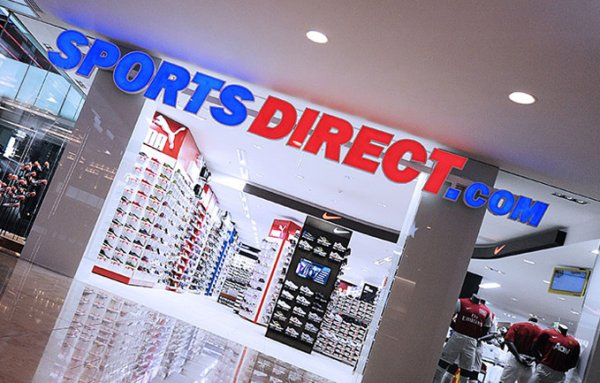 Eine Sports-Direct-Filiale in Großbritannien
