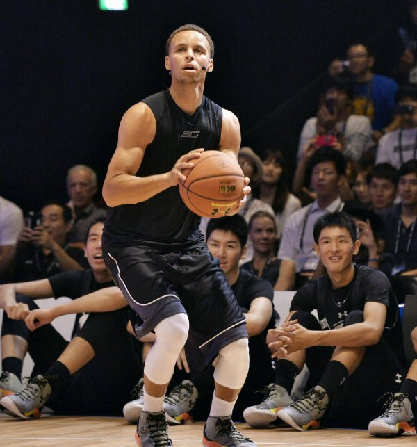 Steph Curry von den Golden State Warriors