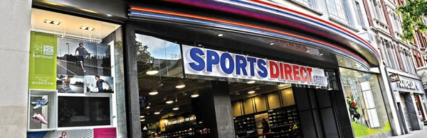 A shop of Sports Direct.