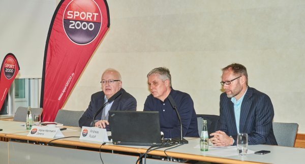 Sport 2000 press conference at ISPO MUNICH 2016