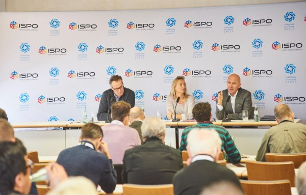 The EOG press conference at ISPO MUNICH 2016