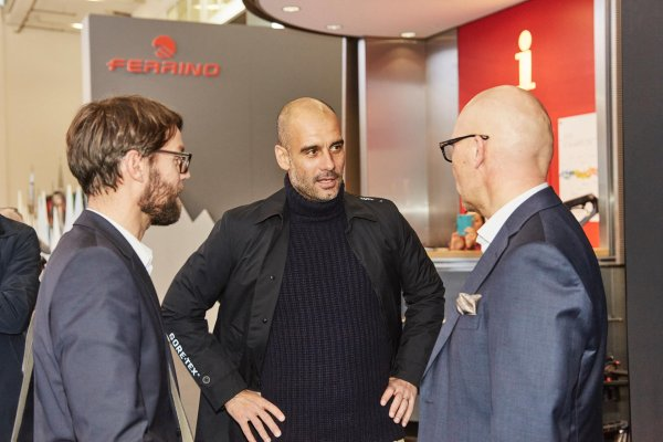 Pep Guardiola at ISPO MUNICH 2016