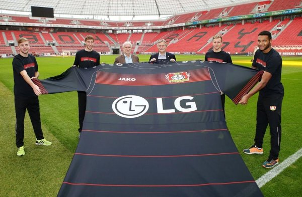 New jersey: Jako and Bayer04.