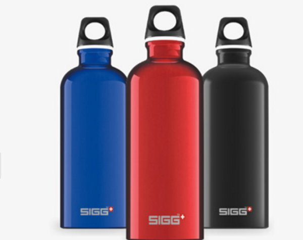 Prizewinner: This year, Sigg was honored with the German Design Award. The Swiss manufacturer of bottles and other equipment is now controlled by a large Chinese corporation.