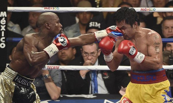 Got penalized by Nike for his homophobic comments: Boxer Manny Pacquiao, whose sponsorship agreement with the sports equipment manufacturer was cancelled.