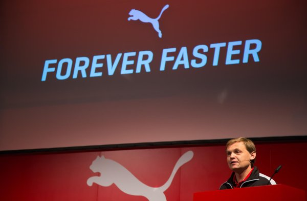 Announced the business figures and was happy with the sales: Puma CEO Bjørn Gulden
