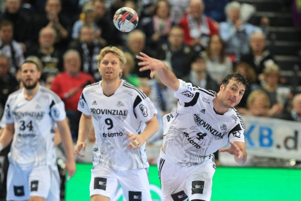 May soon be outfitted by Puma: THW Kiel.