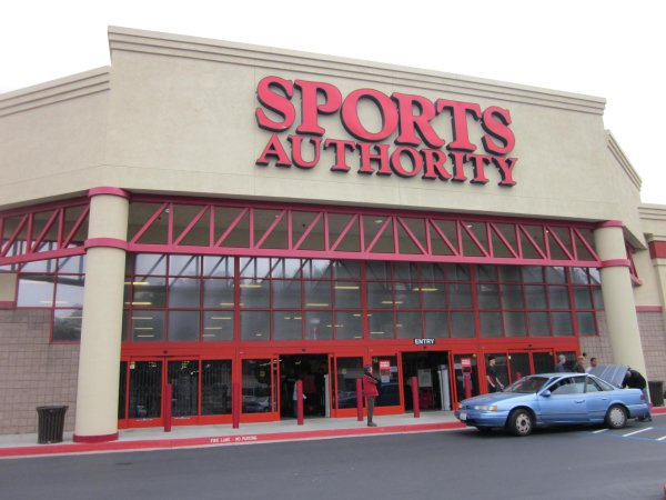 The Sports Authority Store.