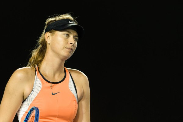 She shocked the tennis world with her confession: tennis star Maria Sharapova.