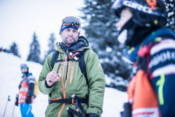 Nicolas Hale-Woods is the inventor of the Freeride World Tour