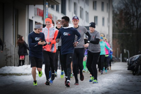 34 locations; all starting at the same time - on 8 May the Wings for Life World Run will take place for the third time