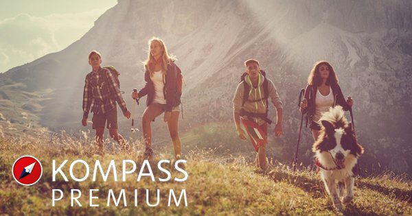 With Kompass Premium the planing of tours will be more easy