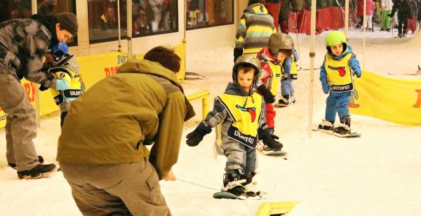 A fun introduction to winter sports, that is the principle of World Snow Day