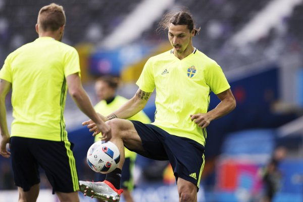 Originally in Nike, Now in Adidas Soccer Shoes: Zlatan Ibrahimovic