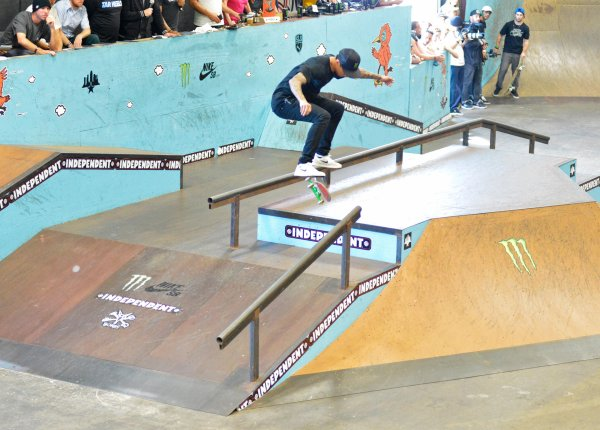 Nyjah Huston is the most victorious SLS Pro.