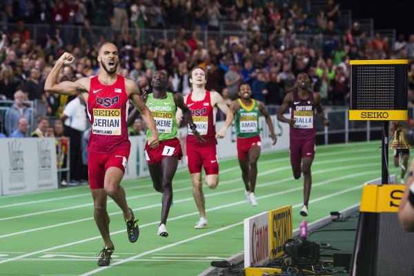 Boris Berian is the fifth fastest American over 800 meters