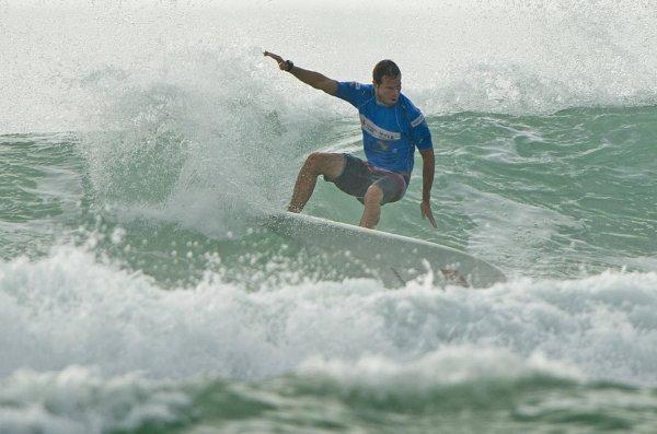 Pros like Ned Snow (USA) appreciate the good conditions at events on Hainan.