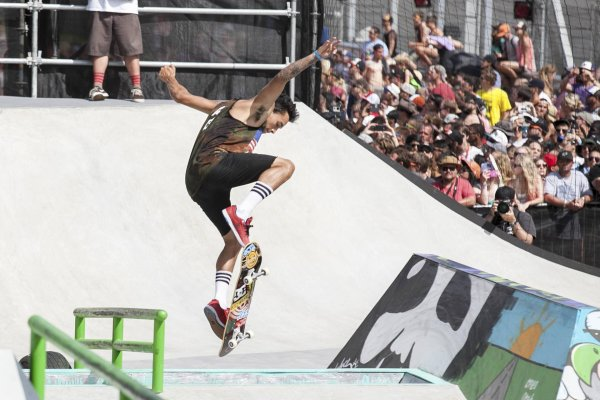 Skateboarding could soon be an Olympic sport: Superstar Nyjah Huston would be pleased.