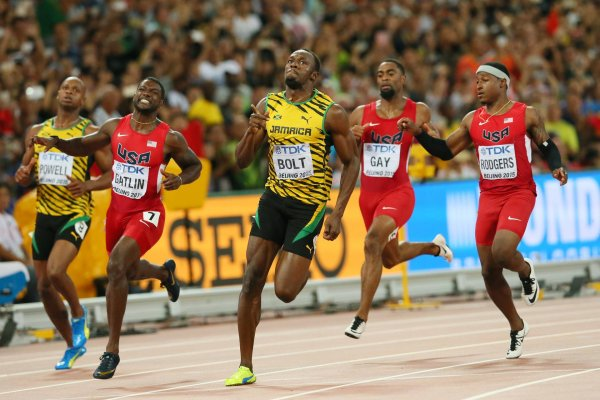 The sprint races are not only a competition for superstar Usain Bolt but also for Puma (Jamaica) and Nike (USA).