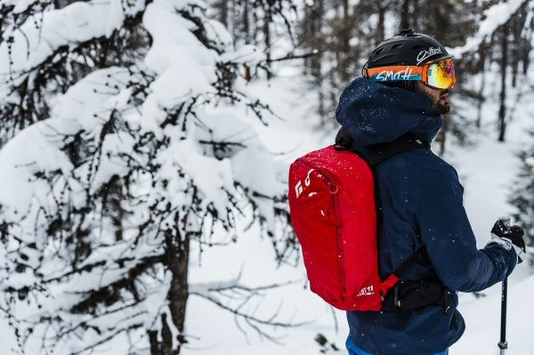 Black Diamond's JetForce avalanche backpacks came onto the market in 2014