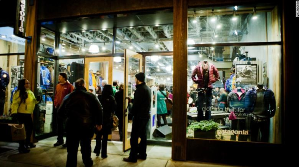 Patagonia is using Black Friday for a donation campaign.