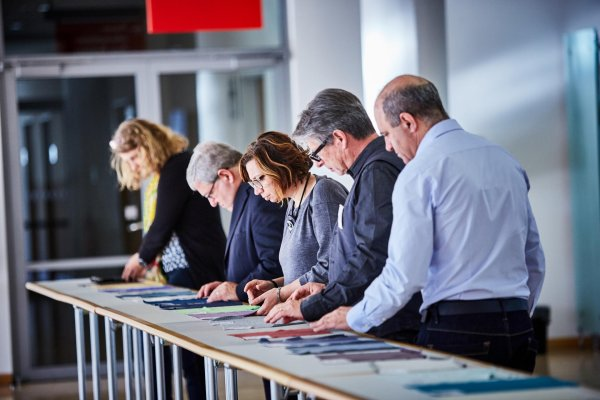 A lot of applications and submissions have to be viewed by the ISPO TEXTRENDS jury.