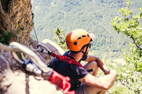Klettersteig Tessin : Klettersteig via ferrata dei tre signori youtube