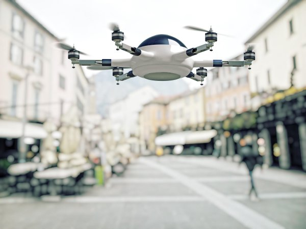 Parcel stations marked the beginning – it is likely that deliveries will soon be undertaken by drones.