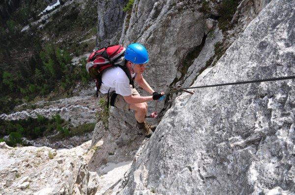 Klettersteig Wolfgangsee : Bergfex persailhorn sÜd steinernes meer klettersteig tour
