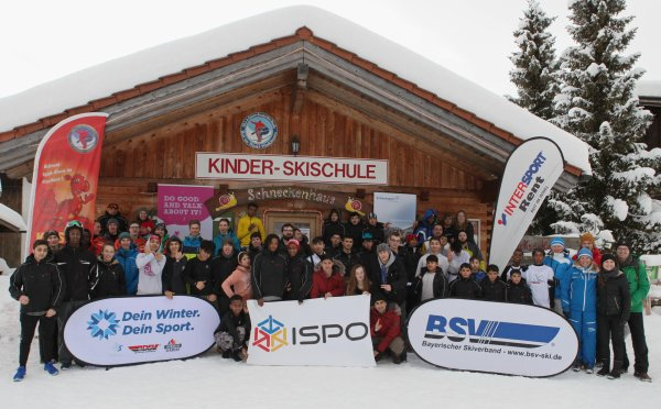 The 49 participants were in Reit im Winkl, Bavaria on the 5th annual Snow Sports Day.