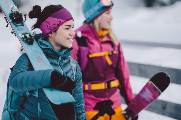 Skis for women have established themselves on the market: Retail has recognized that women need their own products.
