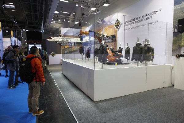 The Gore stand at ISPO MUNICH 2017