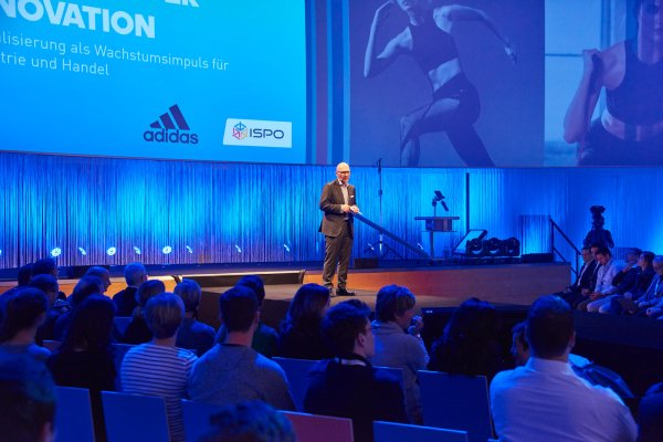 Trade fair boss Klaus Dittrich is pleased by Adidas' return to ISPO MUNICH.