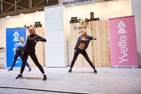 The women's fitness brand Yvette also participated in ISPO MUNICH 2017.