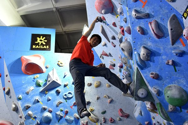 Climbing is earning its spot on the Chinese sports market.