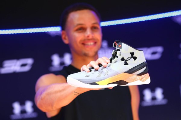 NBA star Stephen Curry is one of the faces of Under Armour.