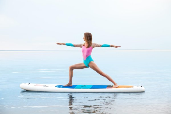 Protective fabrics including UV protection are essential for SUP Yoga