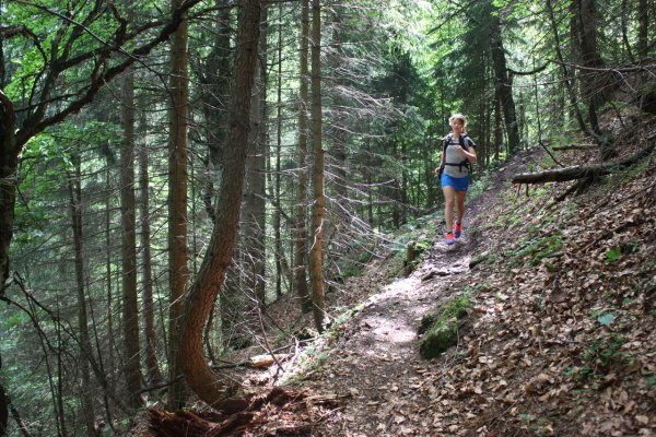 Marlene Franke (Never Stop Munich) relies on social media as a communication tool for trail runners.
