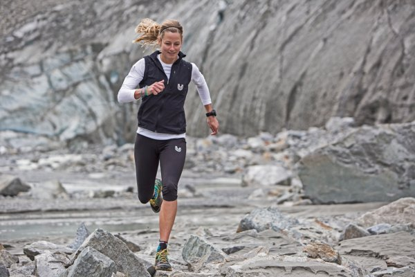 Anne-Marie Flammersfeld, the most famous German ultra runner.