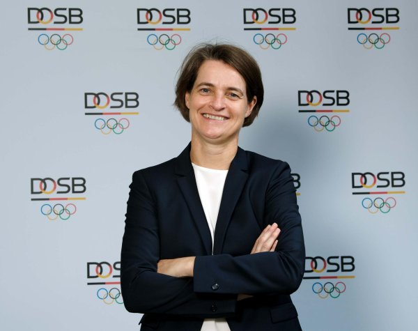 From January 1, 2018, Veronika Rücker will be Chairwoman of the DOSB.
