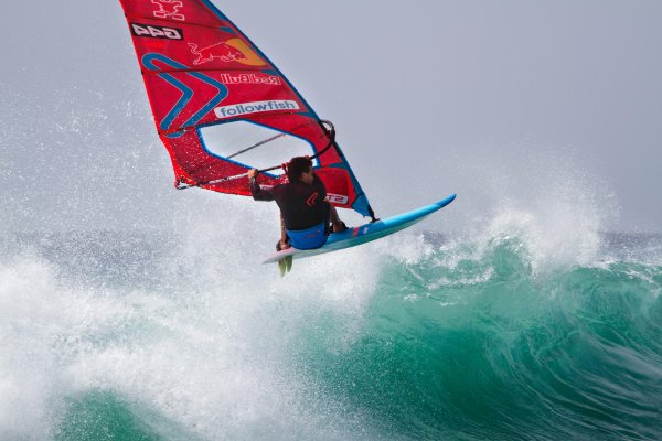 Philip Köster has won the PWA Wave Riding World Cup three times.