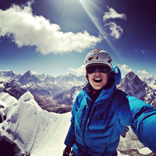Alone in the Himalayas: Mountain climber Jost Kobusch doesn't back down from anything.