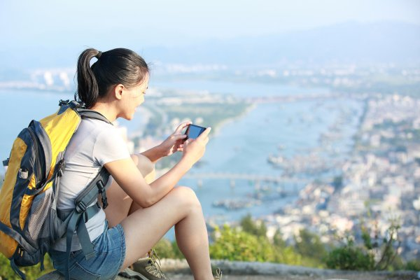 Relying on your smartphone outdoors? WeChat makes it possible.
