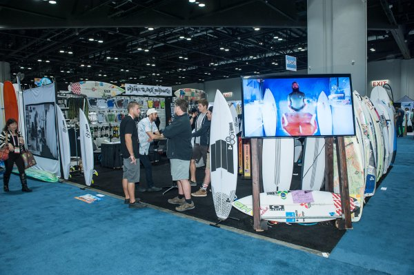 Surf Expo is now scheduled to close on Friday.