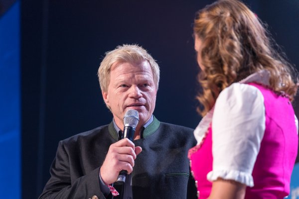 From Champions League winner to start-up: Oliver Kahn, former captain of FC Bayern and the German national team, spoke at the founders' conference Bits & Pretzels about his company Goalplay.