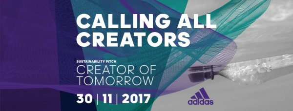 "Adidas ""Creators of Tomorrow"" pitch"