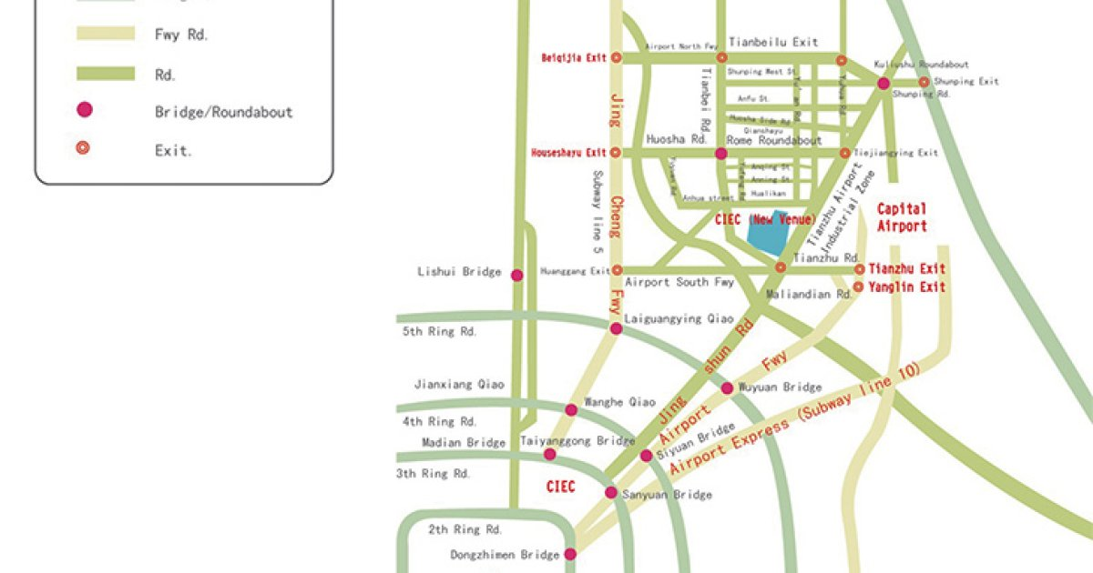 Bejing Subway Map 2018.Ispo Beijing Plans Of Halls And Grounds Ispo Com